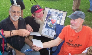 Phil Sauer, Father Nelson & Pete Seeger